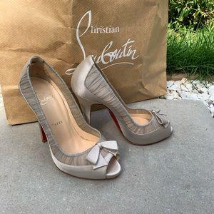 NWOB Christian Louboutin Angelique heels. Size 37